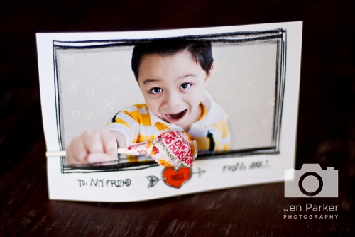 Jen Parker Photography Photo Valentine's Day Card